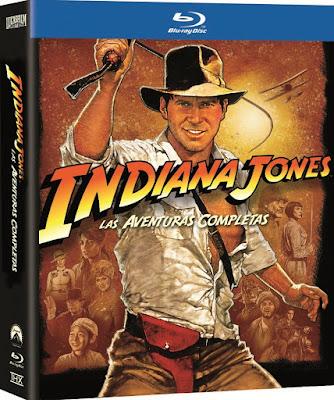 Indiana Jones SAGA BDRip HD 1080p Dual Latino