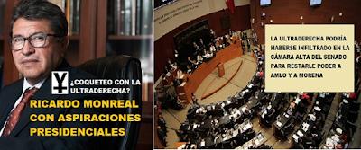 imagen de Ricardo Monreal y sus aspiraciones presidenciales