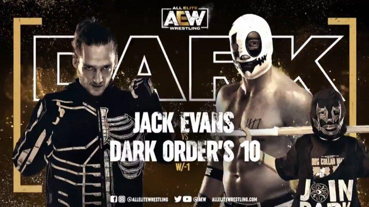 Jack Evans está sofrendo grande heat na AEW