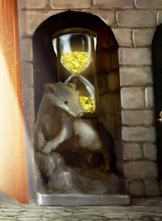 La clessidra di Tassorosso a Hogwarts
