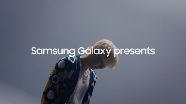 Take a look at How BTS's SUGA Reimagined Samsung's 'Over the Horizon'