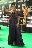 Sanjjanaa Galrani aka Archana Galrani in Maroon Gown beautiful Pics at IIFA Utsavam Awards 2017 43.JPG