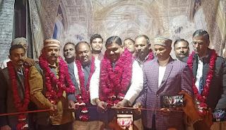 अरविंद सिंह गोप ने तीन दिवसीय धनुषयज्ञ रामलीला मेले का फीता काटकर किया उदघाट्न