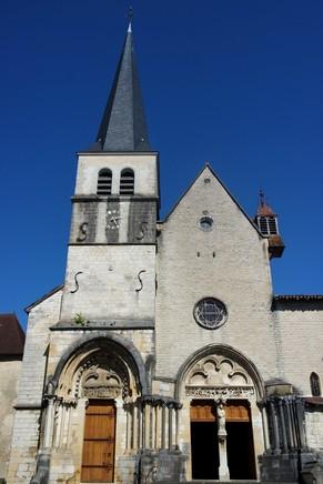 ain abbaye ambronay église