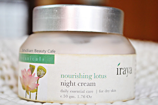 Iraya Nourishing Lotus Night Cream Review