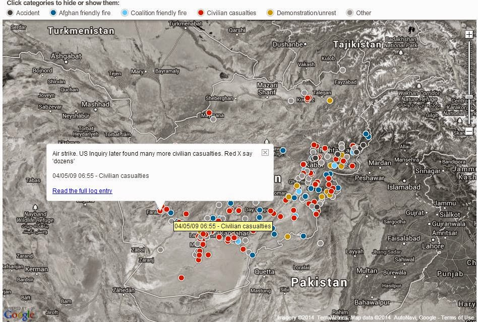 afghan accidents data journalism