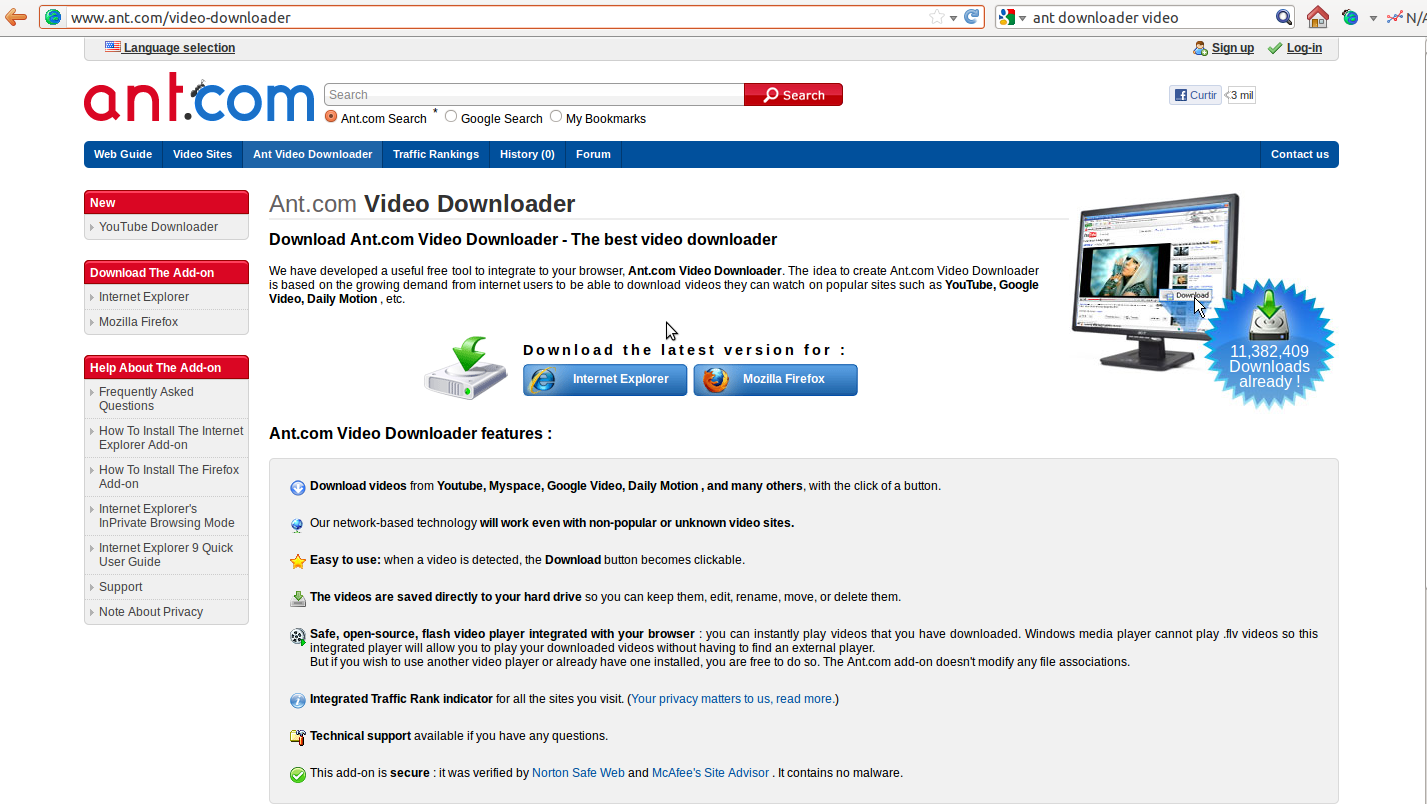 Ant Video Downloader For Mac