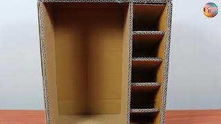 Cara Membuat Rak Buku Gantung Dari Kardus Bekas - Cara Membuat Rak Buku Gantung Dari Bahan Bekas