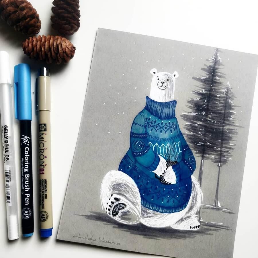 11-Polo-neck-and-Polo-bear-Aakanksha-Bhalerao-www-designstack-co