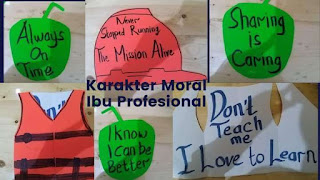 karakter moral ibu profesional