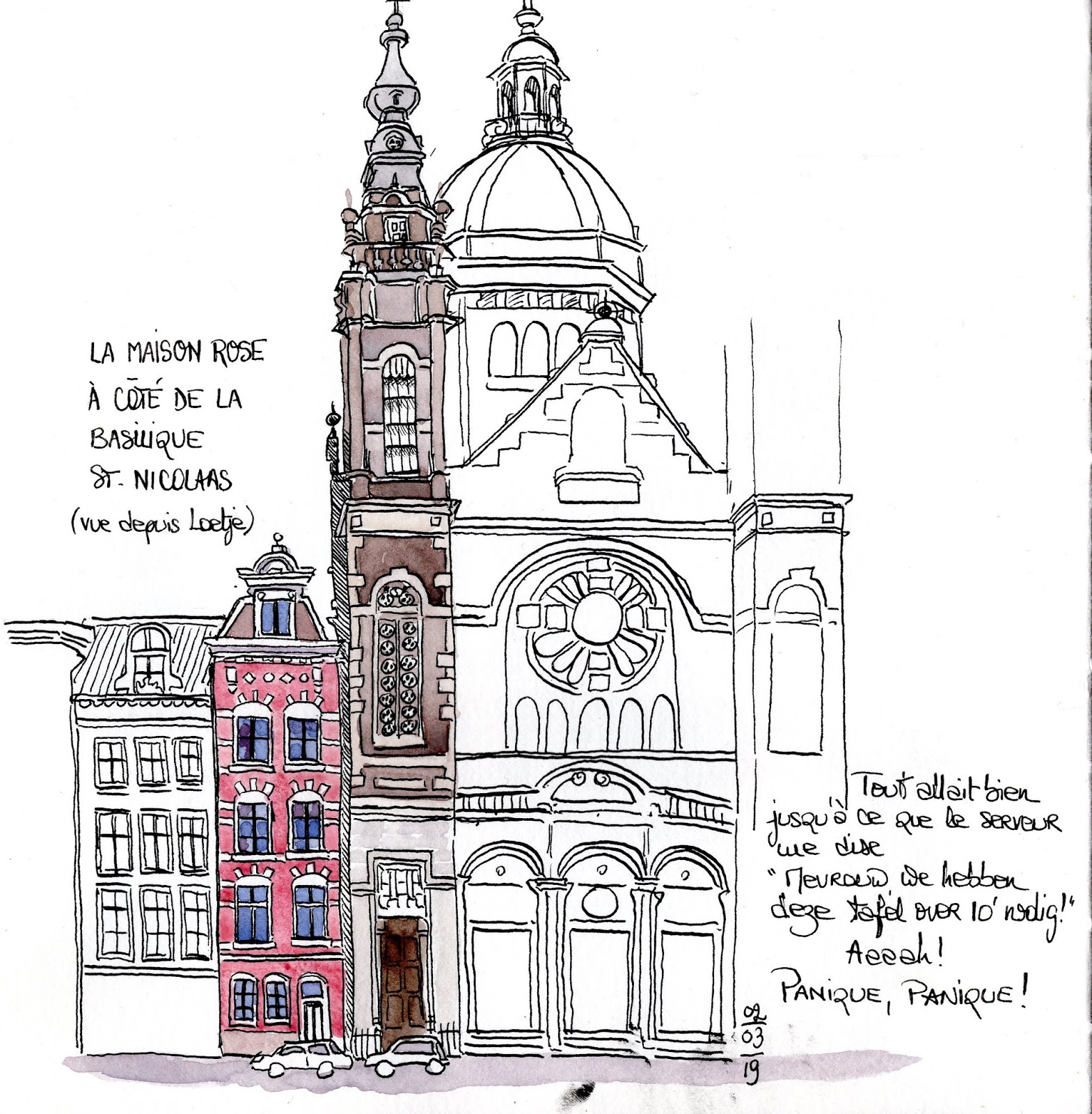 Two Weeks To Go Before Amsterdam Urban Sketchers