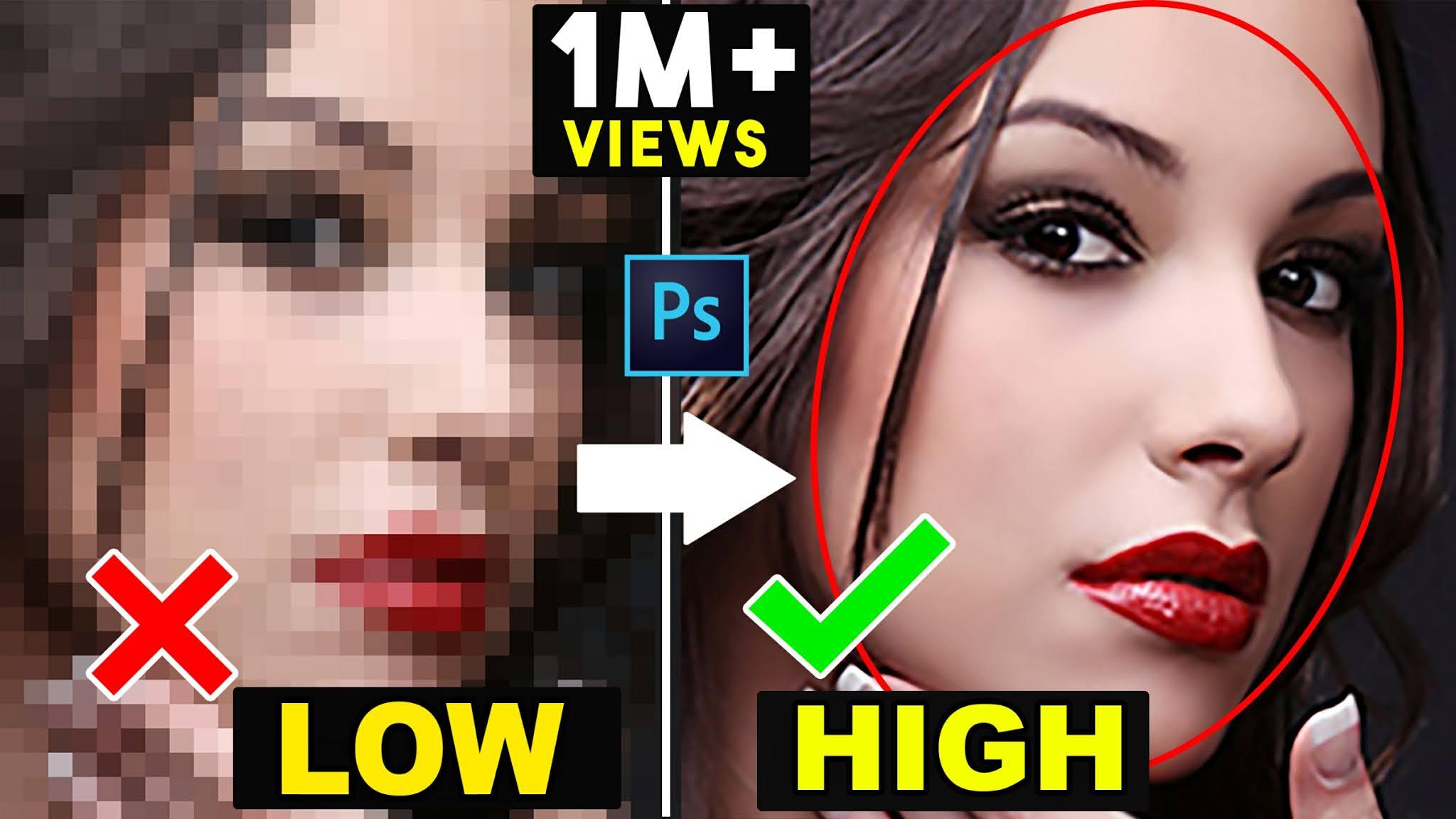 how to depixelate image convert