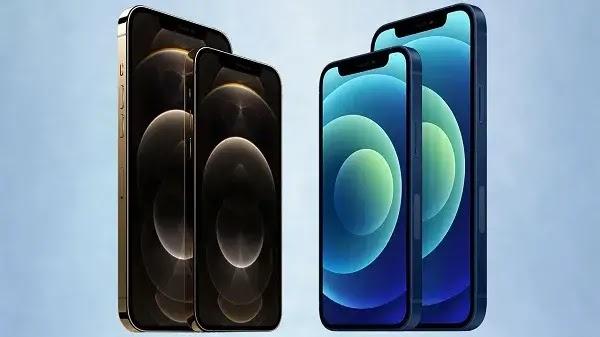 Empat iPhone 12 terbaru