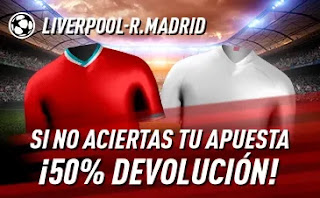 sportium promo Liverpool vs Real Madrid 14-4-2021