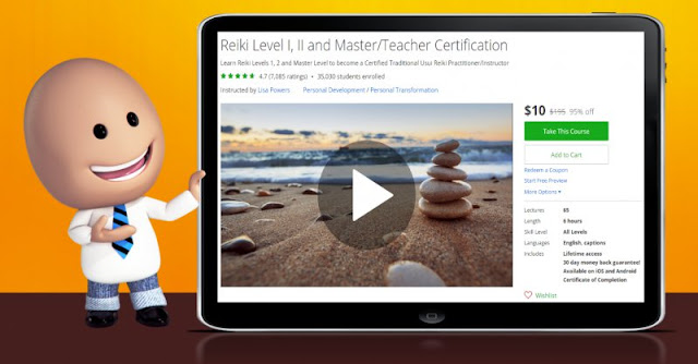 [95% Off] Reiki Level I, II and Master/Teacher Certification|Worth 195$