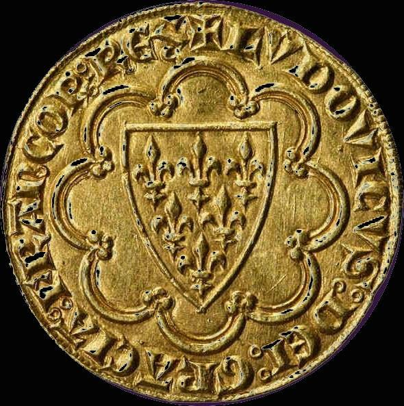 O escudo de ouro de São Luís