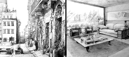 00 ukasz dbowski aka hipiz architecture and interior - Interior Design Drawings