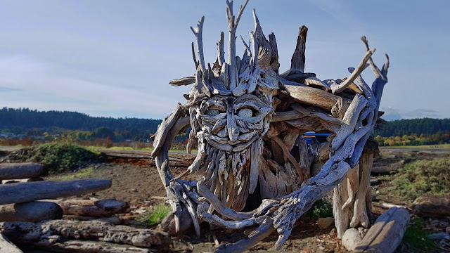 A creature of wood and stone...