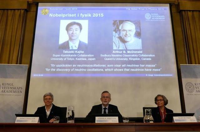 Nobel de Física 2015
