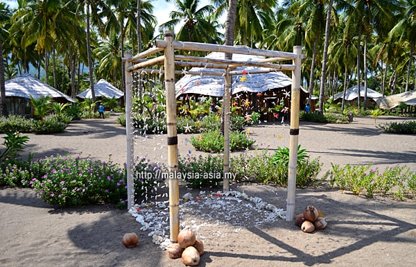 Coconut Garden Beach Resort Wedding