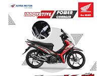 Motor Honda Supra 125X, Kini Memiliki Power Charger