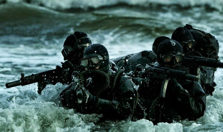 Aksi  pasukan khusus RI