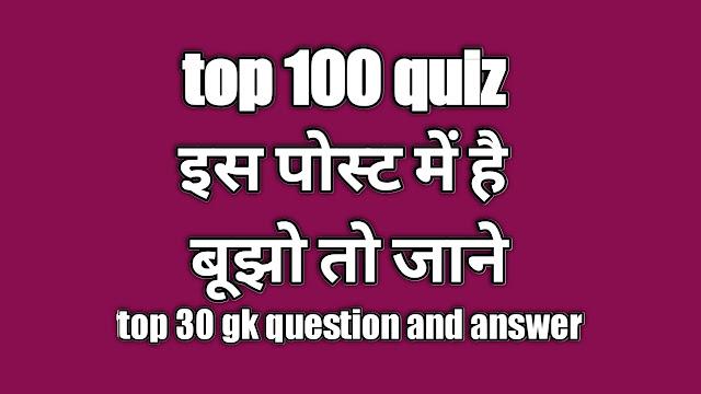 GK 2020 Hindi 2020 General Knowledge 2020 in HINDI