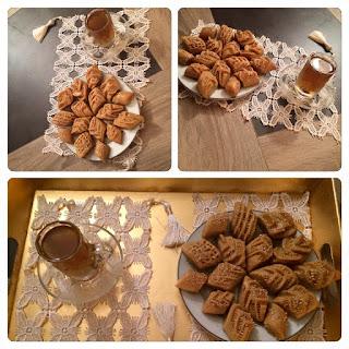 Recette du Makrout aux amandes au four de la cuisine algérienne par Radia