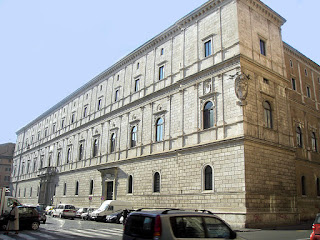 The Palazzo della Cancelleria in Rome was the home of Cardinal Pietro Ottoboni, a patron of music in the city