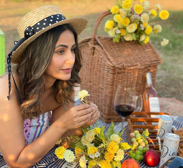 hina khan share-her beautiful-pictures on-her instagram