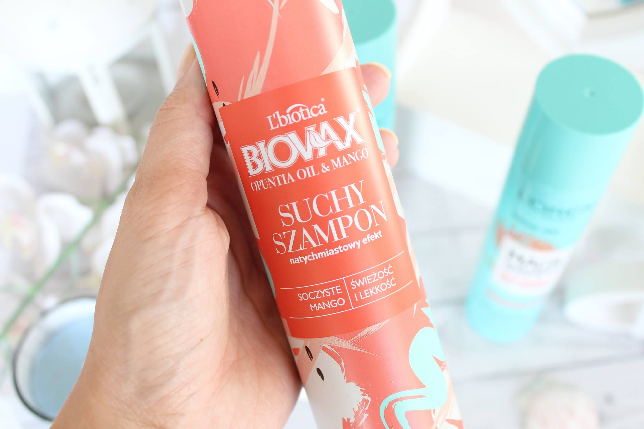 L'biotica Biovax Botanic suchy szampon