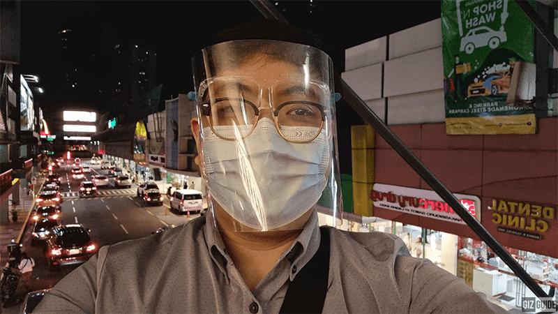 Selfie camera low light