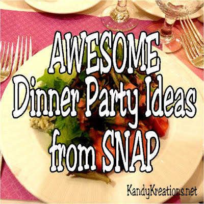 Enjoy some awesome party ideas from SNAP conference.  These dinner party and lunch party ideas show that it's easy to throw an amazing party if you think outside the box and use simple and beautiful table scape ideas.  Companies like Chinet, Micheals, Oriental Trading and Get Away Today show you how.