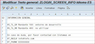 Texto de ZLOGIN_SCREEN_INFO