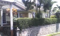 villa puncak cipanas green apple type Ga umi 1...3 kamar tidur