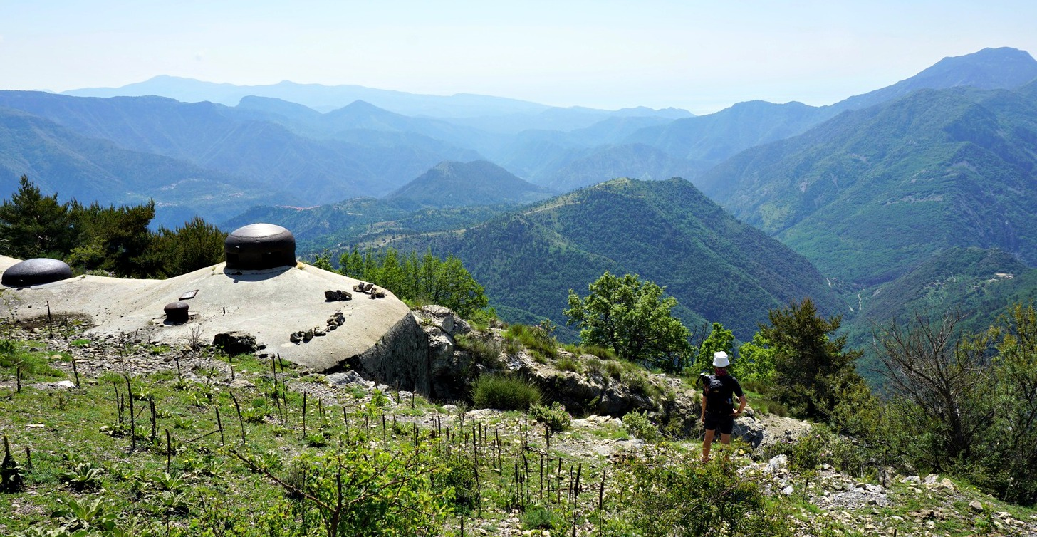 Bunker at eastern summit of Mont Gros