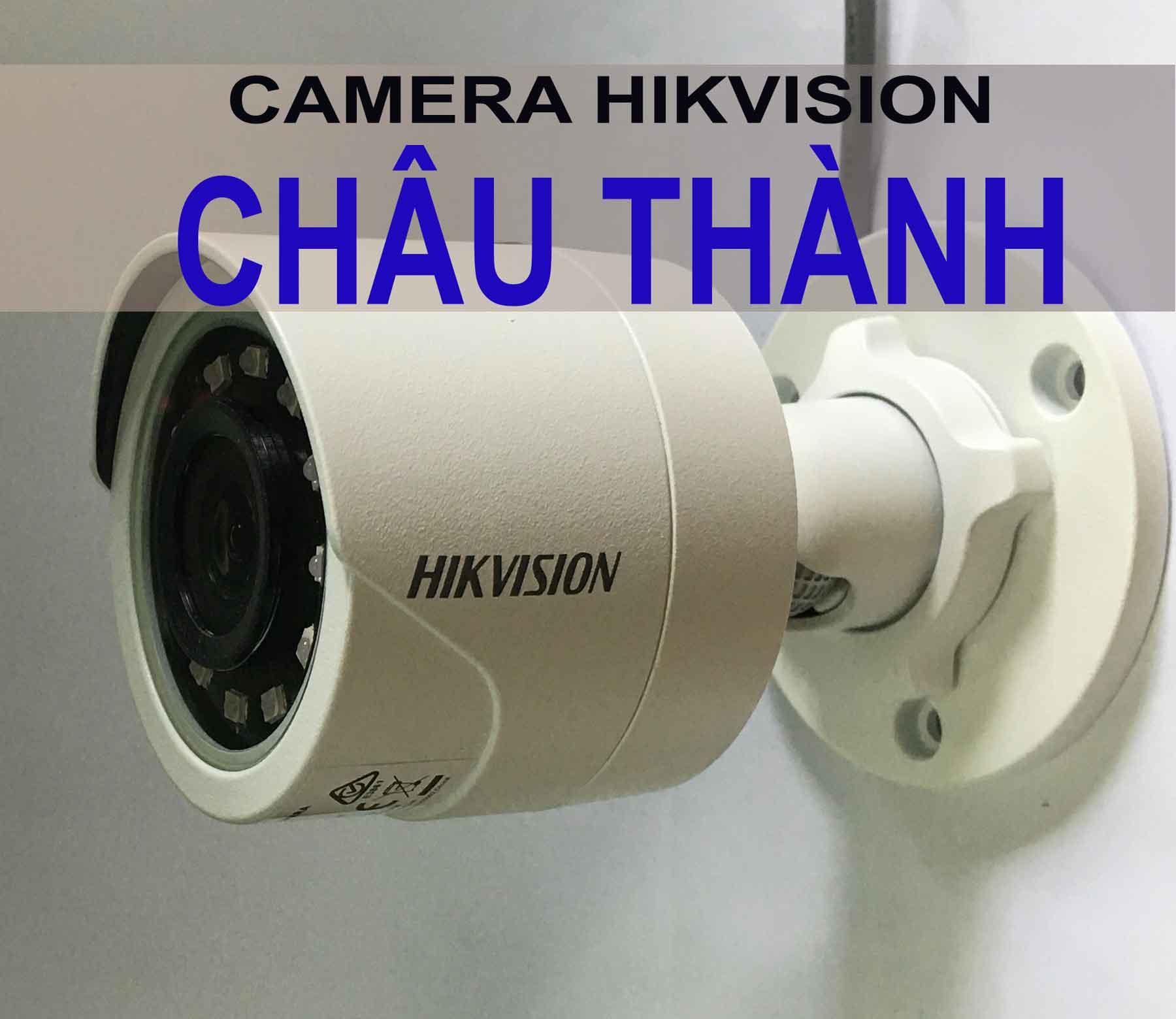Mua camera hikvision tại châu thành