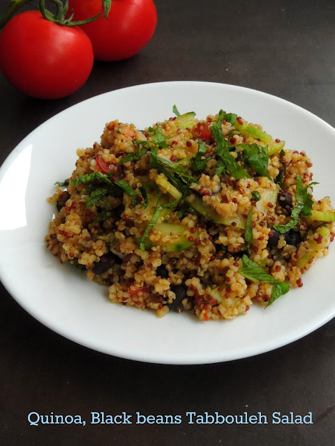 Quinoa & black beans tabbouleh, Quinoa Tabbouleh Salad
