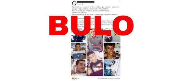"""Los de la foto no son los acusados de """"la manada de Manresa"""", son jóvenes saharauis que murieron en un naufragio"""