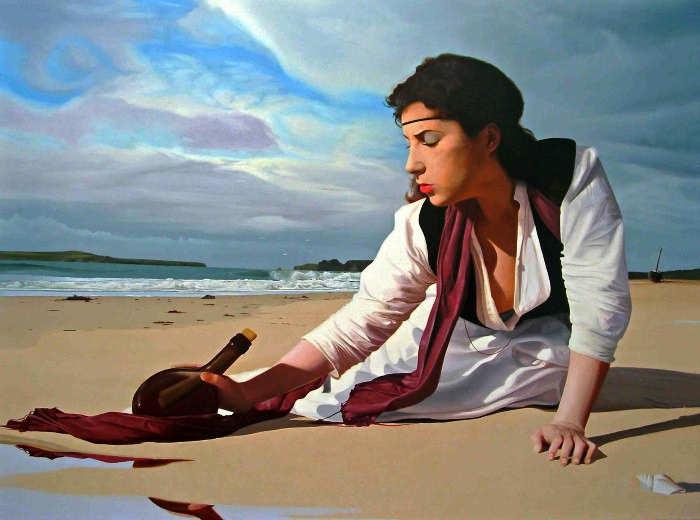 Элегантность в живописи. Michael de Bono 3