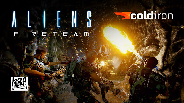 aliens fireteam gameplay reveal video demo xenomorph third-person survival co-op pve shooter pc steam ps4 ps5 xbox one xsx cold iron studios 20th century games
