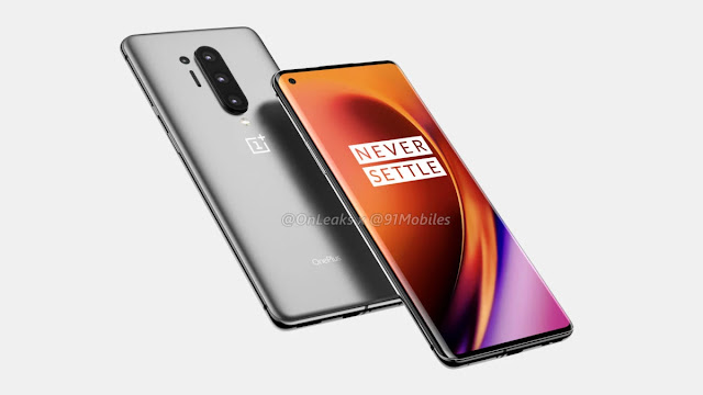 OnePlus 8 and 8 Pro New Leak Reveals 30W Charging & full Specifications