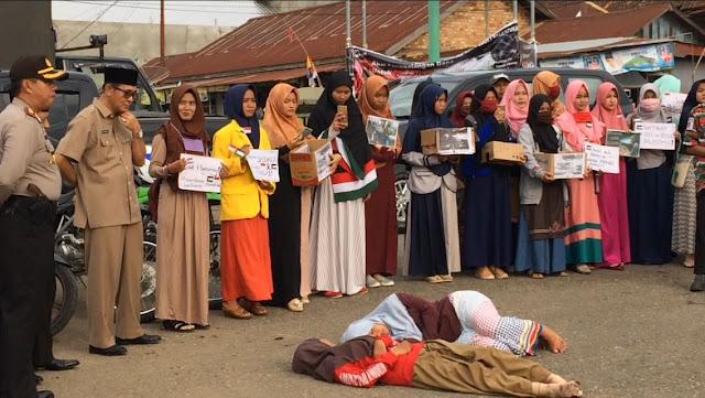 Aksi Pemuda Peduli Palestina Dihadiri Bupati Dan Ketua DPRD