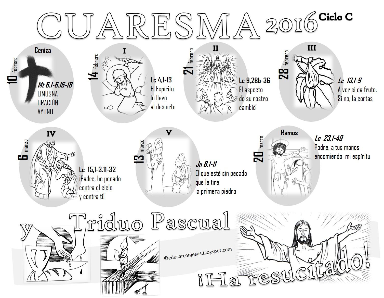 La Catequesis El Blog De Sandra Calendarios Y Caminos
