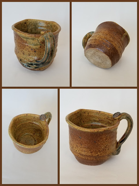 Tony Clennell inspired stoneware mug by Lily L.