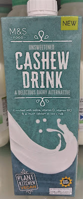 M&S Cashew Drink (Unsweetened)