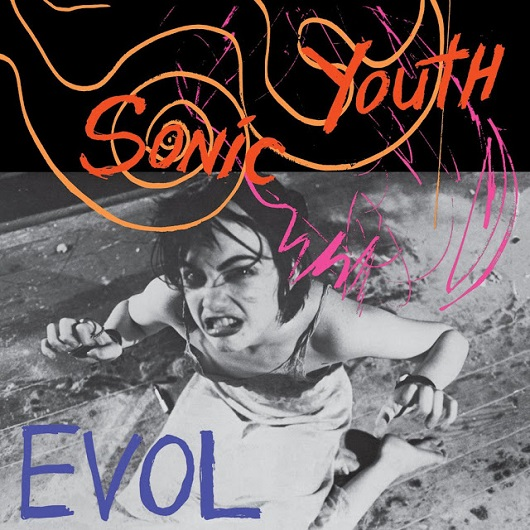 Album cover of SONIC YOUTH - EVOL (1986, SST)