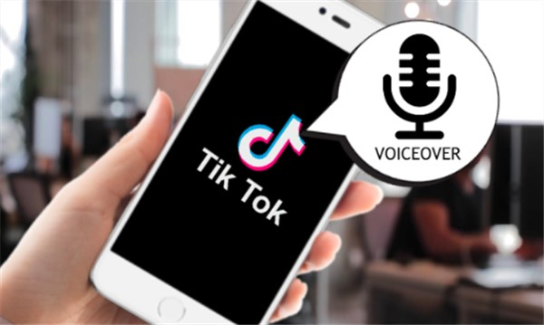how to do voiceover on tiktok