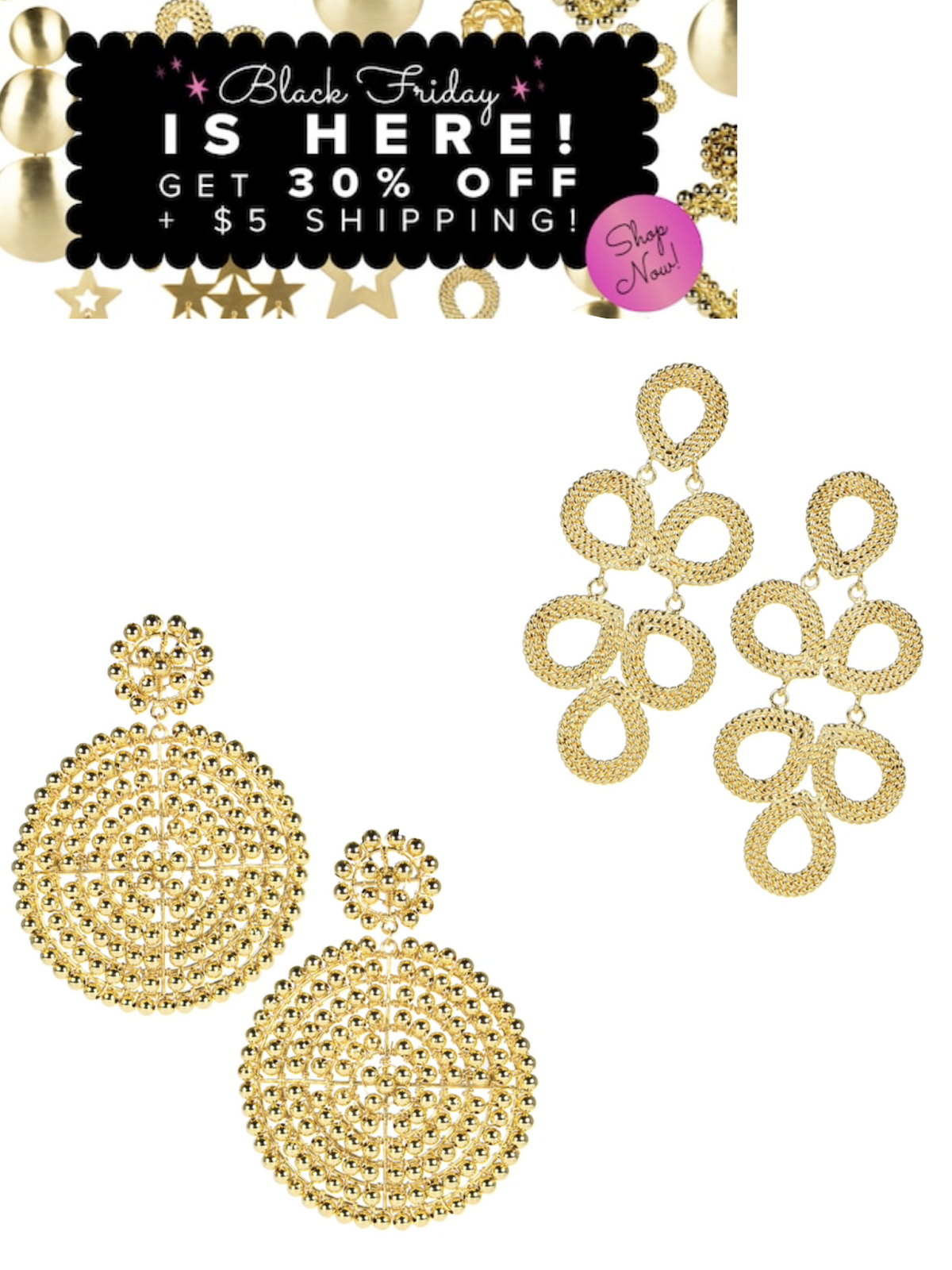 Black Friday Sales and Cyber Monday Deals 2019 | Lisi Lerch Earrings Cyber Monday Sale