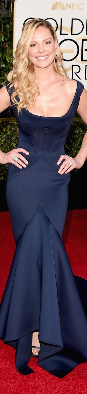 Katherine Heigl 2015 Golden Globes